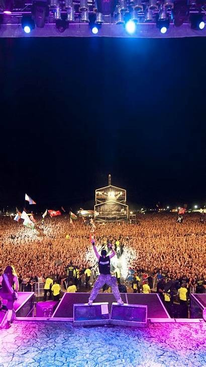 Concert Crowd Iron Maiden Night Fan