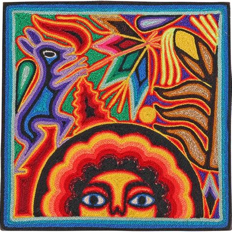 huichol yarn art collection huichol yarn painting yp