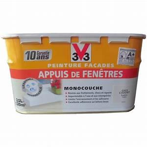 Quelle Peinture Pour Appuis De Fenetre : peinture pour appuis de fen tres v33 gris ciment ~ Premium-room.com Idées de Décoration
