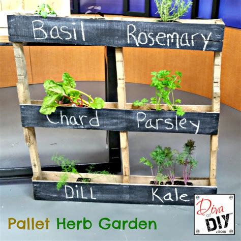 great diy pallet projects   garden