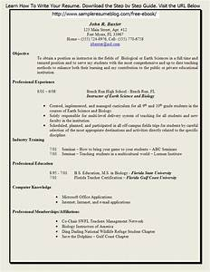 Free Resume Templates For Teachers To Download Sample
