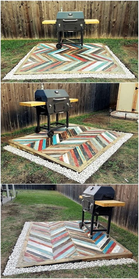 painted pallet projects    summer