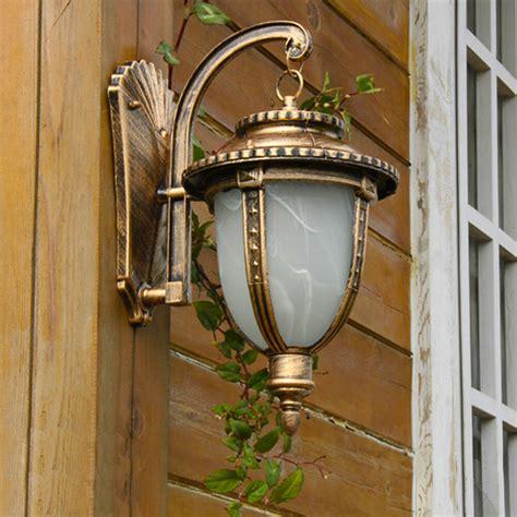 classic rust outdoor wall lantern wall mount garden light sconce path l ebay