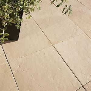 Dalle De Terrasse Castorama : dalle pierre reconstitu e st flour ton pierre x l ~ Premium-room.com Idées de Décoration