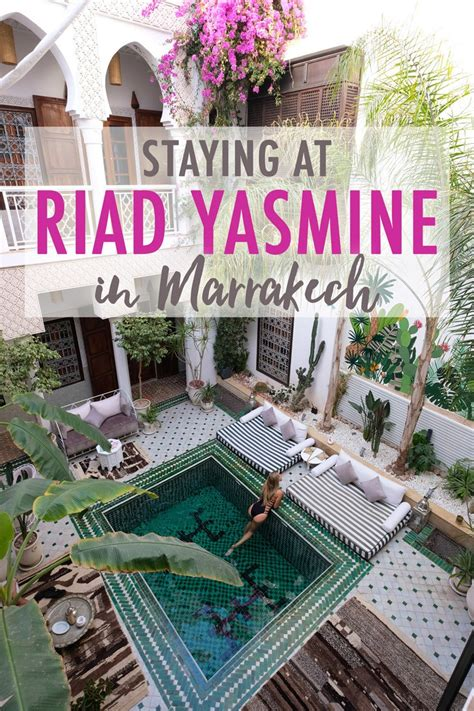 Staying At Riad Yasmine In Marrakech The Blonde Abroad