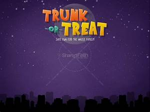 Trunk or Treat Church PowerPoint | Fall Thanksgiving ...