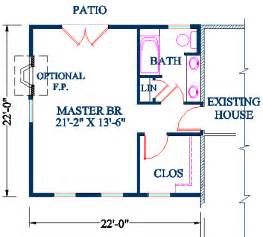 Master Bedroom Floor Plans With Bathroom Master Bedroom Addition Plan Vaulted Ceiling Bedroom And Upstairs Walk In Closet