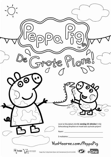 Kleurplaat Peppa Pig Woonkamer Keuken Slaapkamer peppa pig kleurplaat fantastisch kleurplaat peppa pig