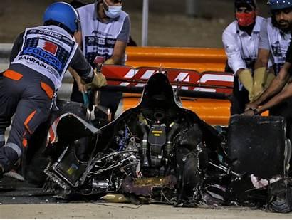 Grosjean Crash Prix Grand Fia Investigation Bahrain