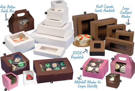 Window Bakery Boxes