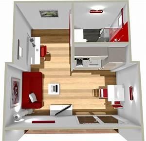 Amenagement Cuisine 20m2 Vente Appartement 3 Pices Marseille 13me Dco Cuisine Miniature