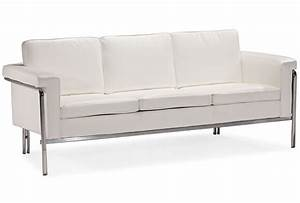 21 modern white leather sofas carehouseinfo for Ultra modern leather sectional sofa set