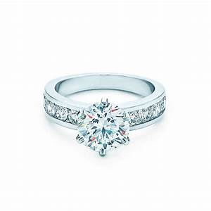 engagement rings with the tiffany setting engagement With diamond wedding rings tiffany