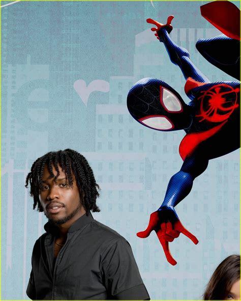 spider man   spider verse voice cast meet