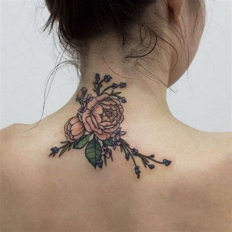 Best 25+ Back Of Neck Tattoo Ideas On Pinterest Back