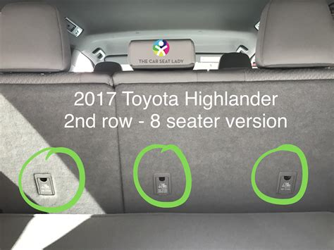 car seat lady toyota highlander