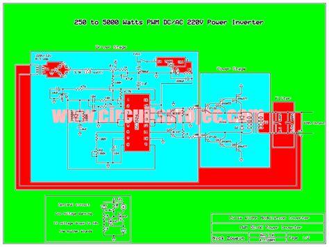 Inverter Watt Pwm Circuit Diagram Digital Free Elec