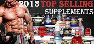 Top Selling Supplements For 2013