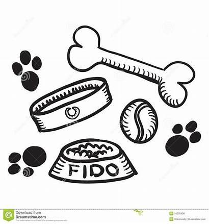 Dog Stuff Hond Materiaal Materia Cane Het