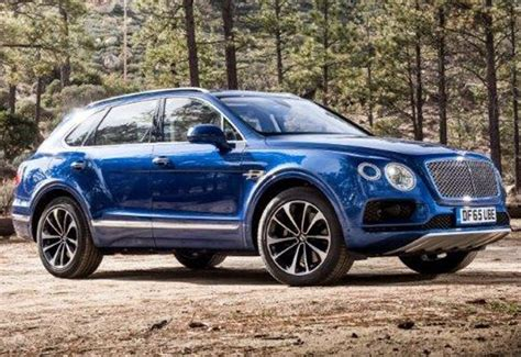 Here's how much Bentley's ultra luxurious Bentayga SUV