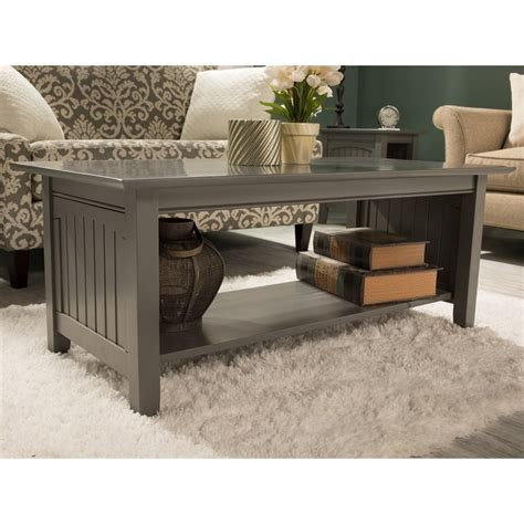 Round coffee side table two size hot sell new design living room furniture sintered stone top gray pu leather coffee table. Nantucket 2 Piece Coffee Table and End Table Set in Grey 684357126059   eBay