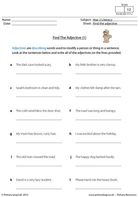 year 1 literacy worksheets worksheets for all