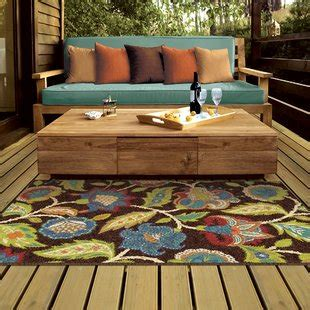 brown area rugs outdoor rugs you 39 ll wayfair