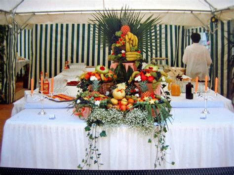 pyramide de fruits buffet photo de photos cuisine