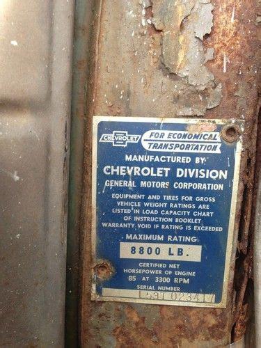 buy   chevy  truck  chevrolet pickup runs