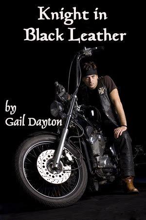 knight  black leather  gail dayton