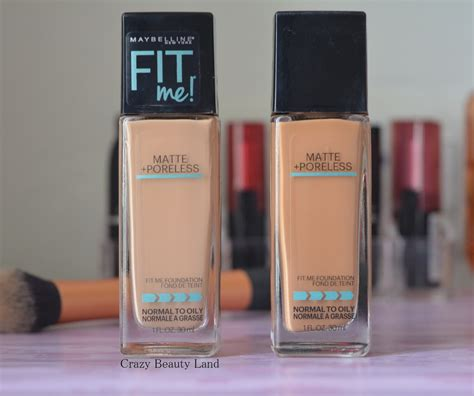 review swatches  maybelline fit  matte poreless foundation  drugstore foundation