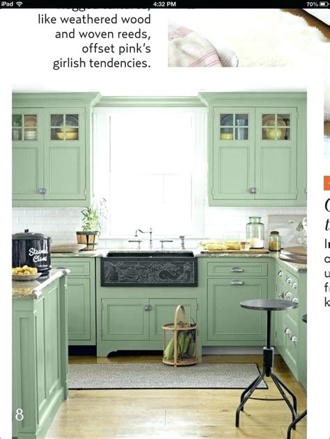 painted kitchen cabinet color ideas green kitchen cabinets with black appliances wow 7310