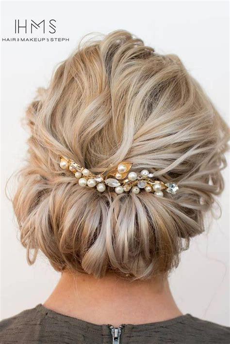 Wedding Updos For Medium Hair Best 25 Medium Wedding Hair