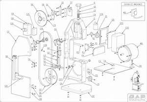 Sap 1830 Bandsaw Parts