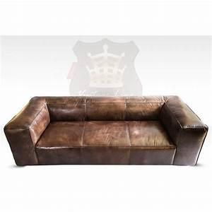 Sofa Leder Vintage : lounge sofa leder ~ Indierocktalk.com Haus und Dekorationen