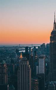 New York City Empire State Building Skyscrapers  Hd 4k