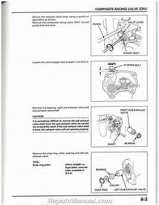 1997 1998 1999 Honda Cr250r Motorcycle Service Manual