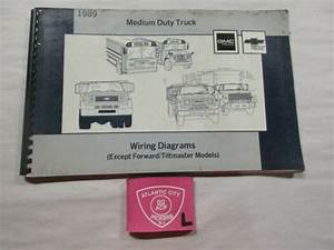 1989 Gmc Chevrolet Medium Duty Truck Wiring Diagrams