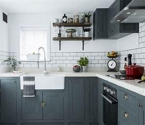 1001 astuces et idees pour amenager une cuisine en l With mod le de cuisine en forme de l