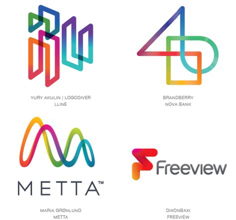 2015 logo trends articles logolounge