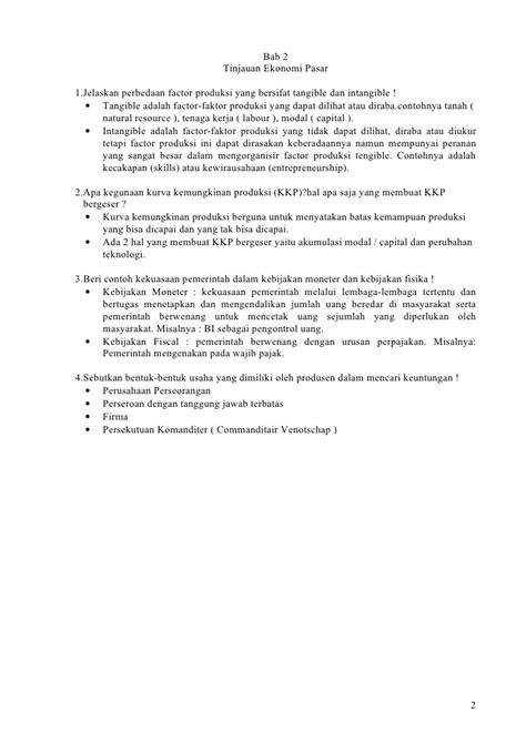 Contoh Soal Ekonomi Mikro Pasar Monopolistik - ID Jobs DB