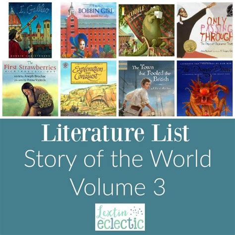 Literature List for Story of the World Volume 3 Lextin