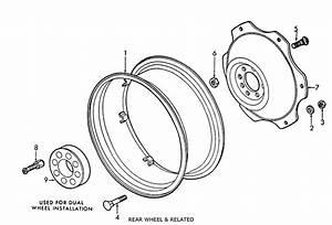 Ford 2n  8n  9n Rear Wheel  U0026 Related Parts List