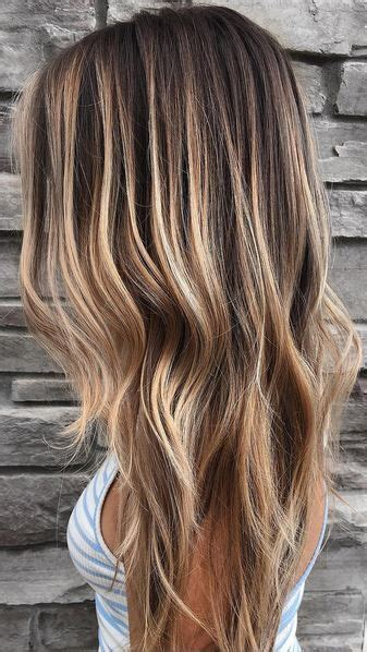 brunette highlights summer ideas  pinterest