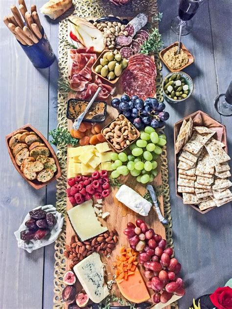 create   party perfect charcuterie cheese board