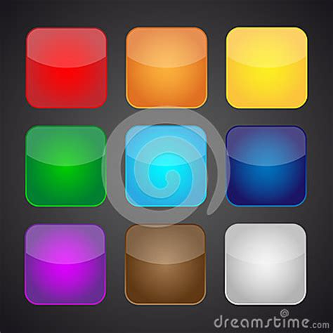 photo color app set of color apps icons background royalty free stock