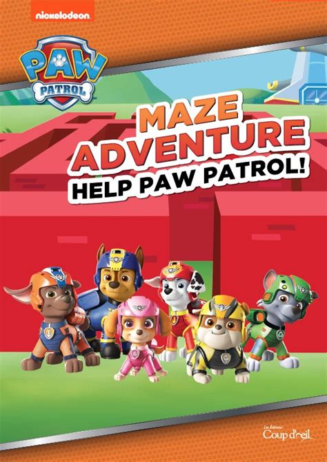 paw patrol mazes goelette international