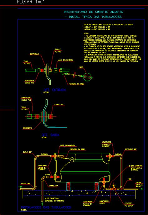 detail water tank dwg detail  autocad designs cad