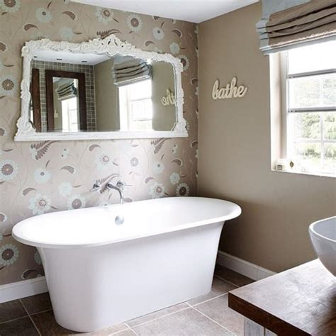 gorgeous bathroom wallpaper design ideas rilane