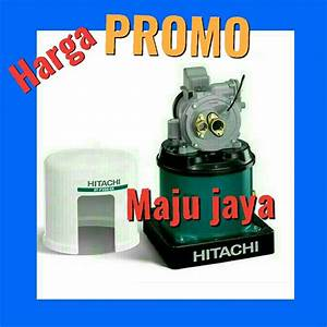 Jual Pompa Air Jet Pump 30 Meter Hitachi Dtp 300 Gx Otomatis Sanyo Wasser Shimizu Panasonic